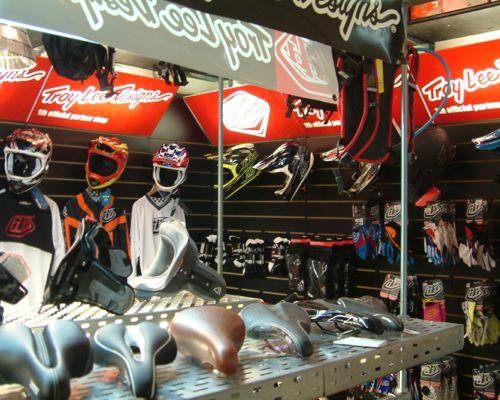 Der Shop-in-Shop «Troy Lee Designs».