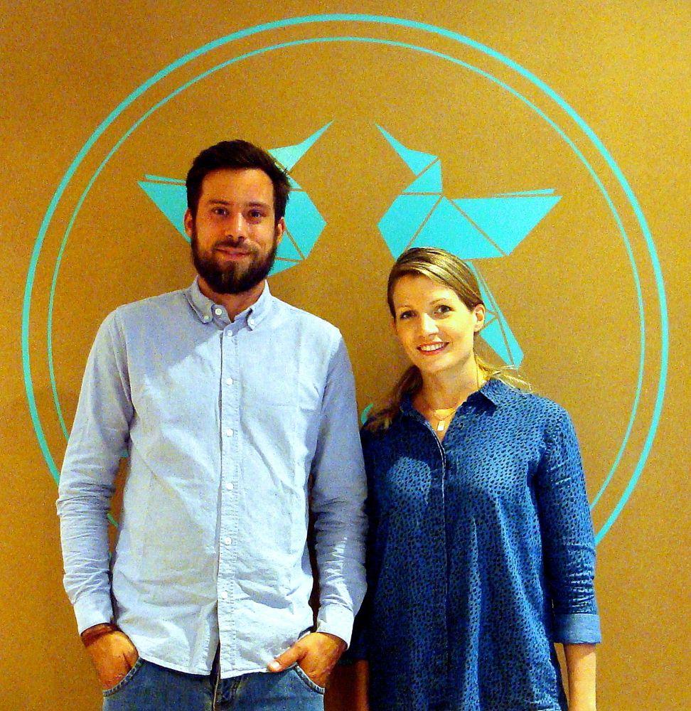 Die beiden Inhaber des «Früh'ling»: Nils von Weissenfluh und Gina Hofstetter