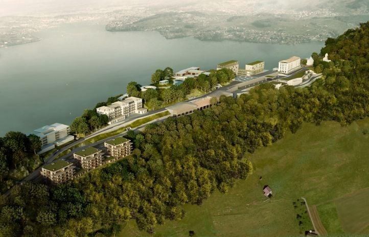 Das Tourismus-Resort gemäss Plan