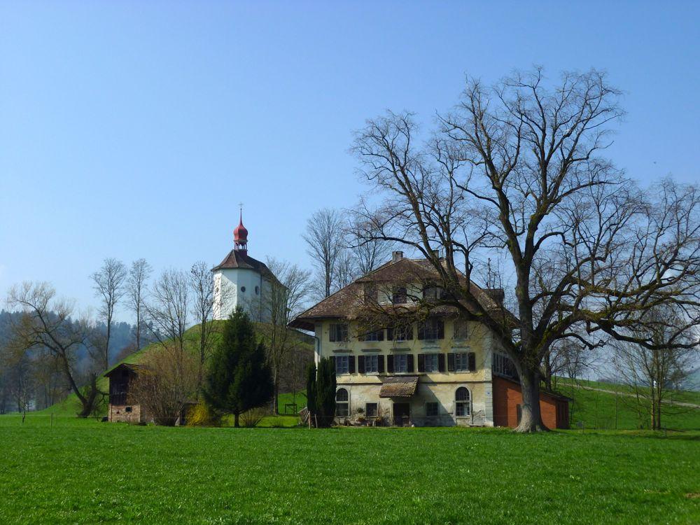 Eine der historischen Mühlen bei Alberswil. (© Judith Rickenbach)
