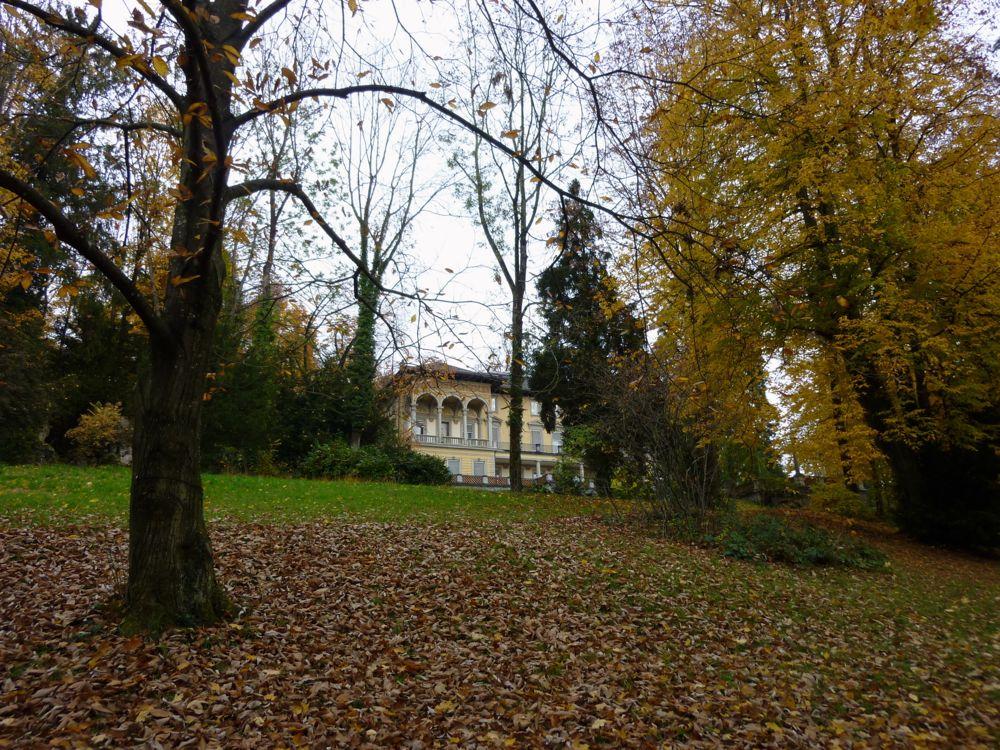 Die Villa Bellerive in Luzern liegt inmitten eines prächtigen Parks. (© Judith Rickenbach)