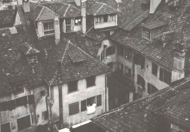 In diesem Hof wurde Barbara Spähni verhaftet. Quelle: Boesch, Evelyn (1996)