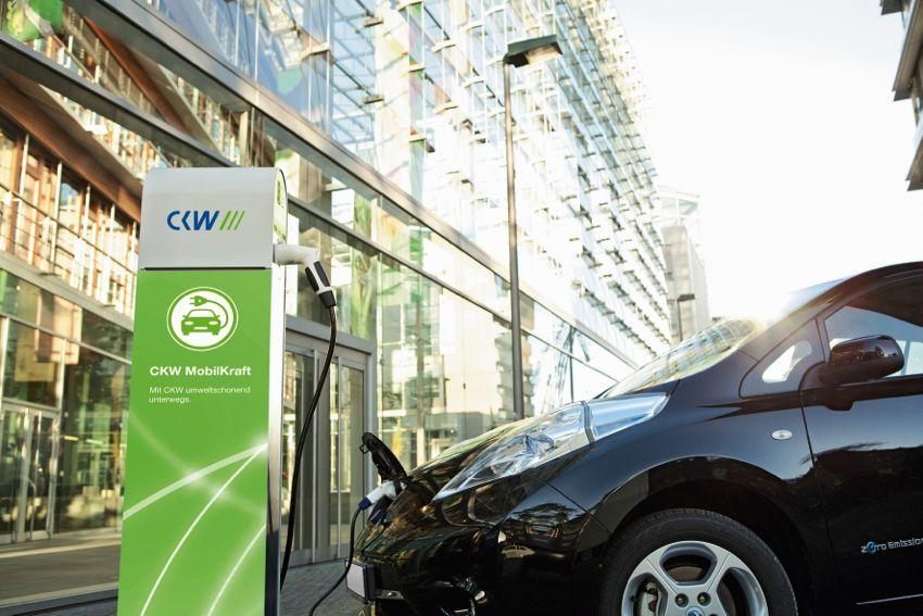 Die CKW verfügt an sieben Standorten im Kanton Luzern über Stromtankstellen. ( 2013 CKW)