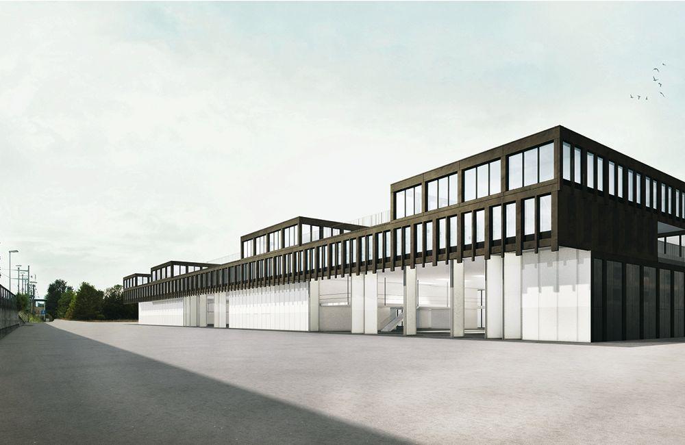Neuer Hauptstützpunkt der Zugerland Verkehrsbetriebe AG.