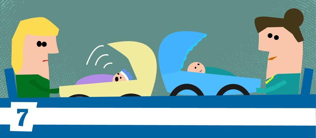 Der Kinderwagenfreundliche