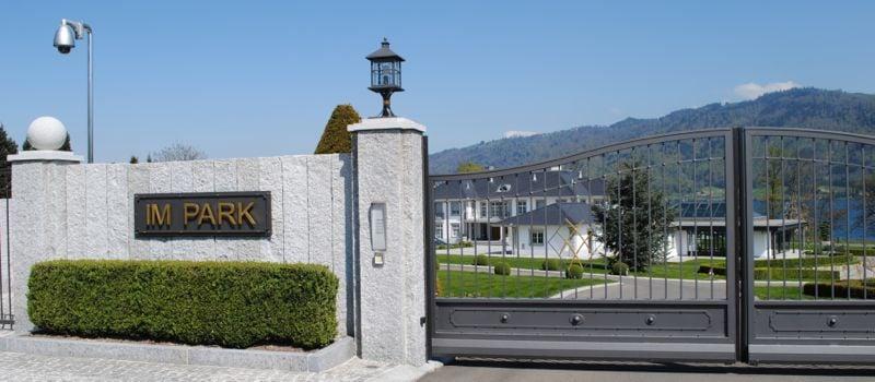 Das Anwesen «Im Park» gehört dem Unternehmer Eugen Hänggi. (Bild: anm)
