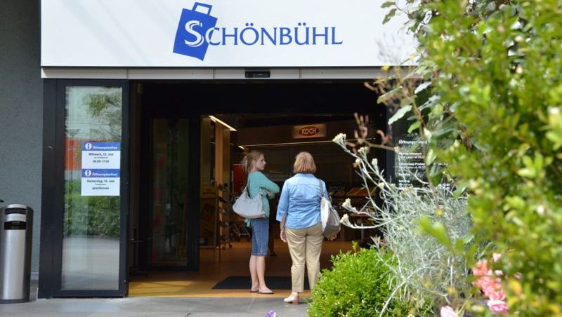 Das Schönbühl-Center in der Stadt Luzern gehört mit einem Umsatz von 54 Millionen Franken zu den kleinen Einkaufszentren. (mag)