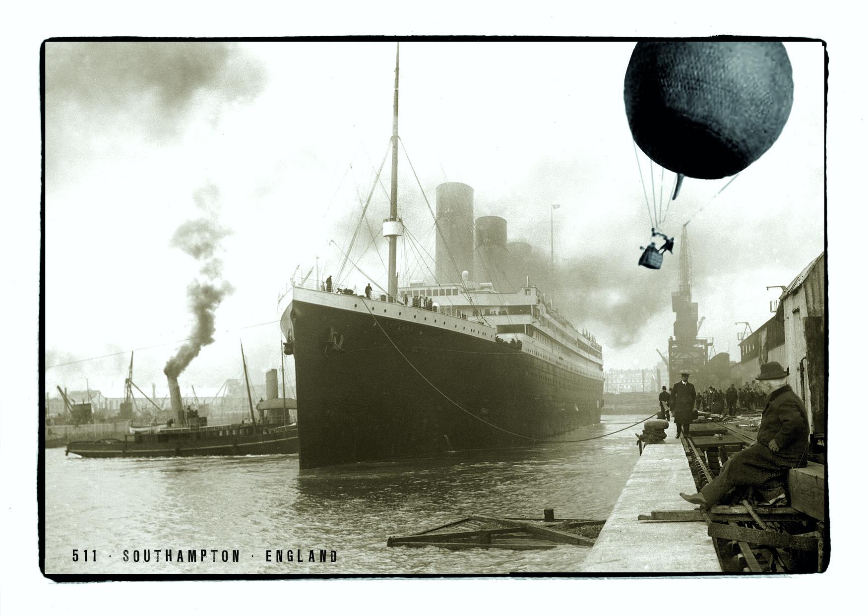 Spelterini in den Southhamptons - Postkarte