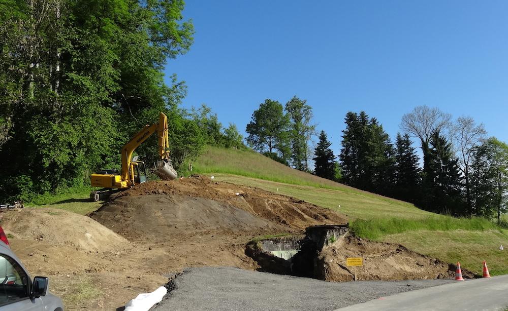 Die Sanierung der Anlage Neuenkirch-Hellbühl im Mai 2014