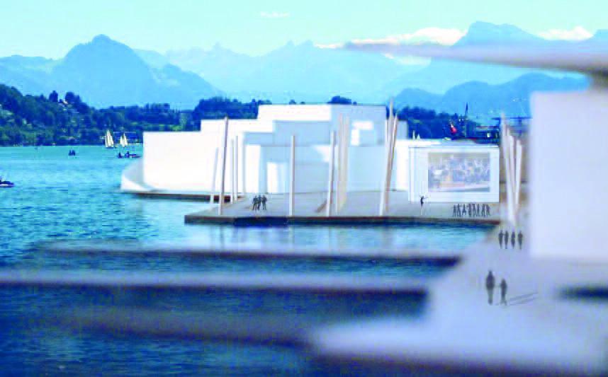 Kalomiris Projekt steht an prominenter Lage am See. (zvg)