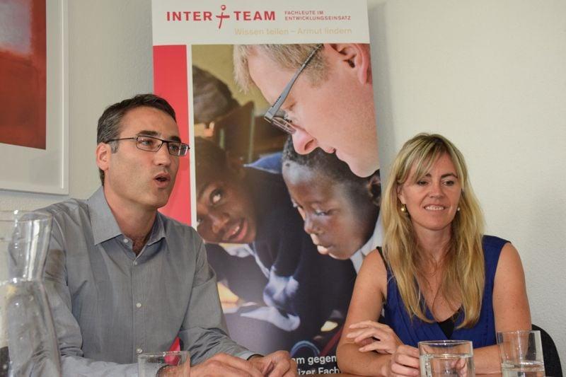 Waren für Interteam lange in Lateinamerika und Afrika: Erik Keller und Renate Frey, im Gespräch mit zentral+ am Sitz der Organisation.