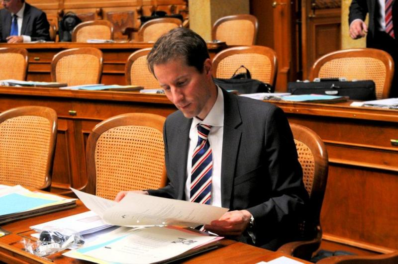 Thomas Aeschi hat grosses vor mit der Zuger SVP: Er will noch mehr Sitze holen im Kantonsrat. Wie das geht? Mit geballter Wirtschaftsfreundlichkeit.