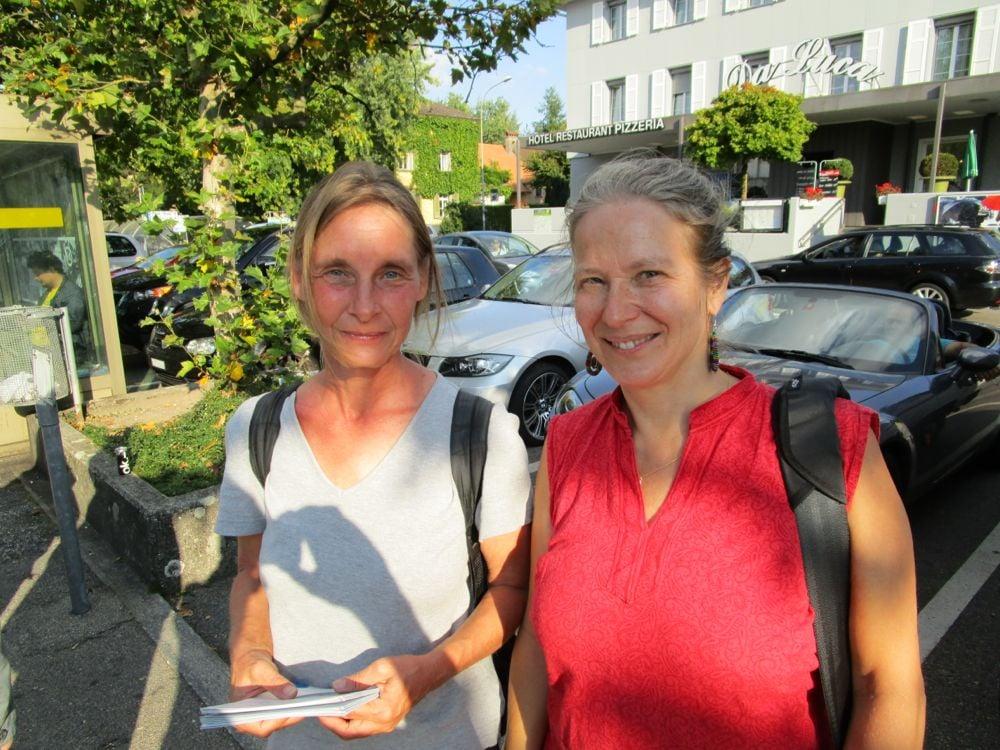 Susanne Hagen und Bianca Miglioretto von fair fish.