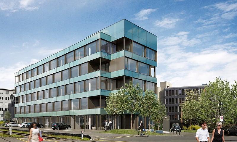 Sollte von einer internationalen Firma gemietet werden: Das Projekt Platform am Zuger Bahnhof.