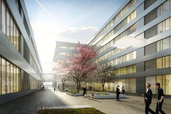 So soll es ab 2018 auf dem Siemens-Areal aussehen. (Visualisierung)