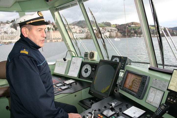 Hans-Peter Mosimann liebt seinen Job und die Aussicht von seinem Arbeitsplatz aus.