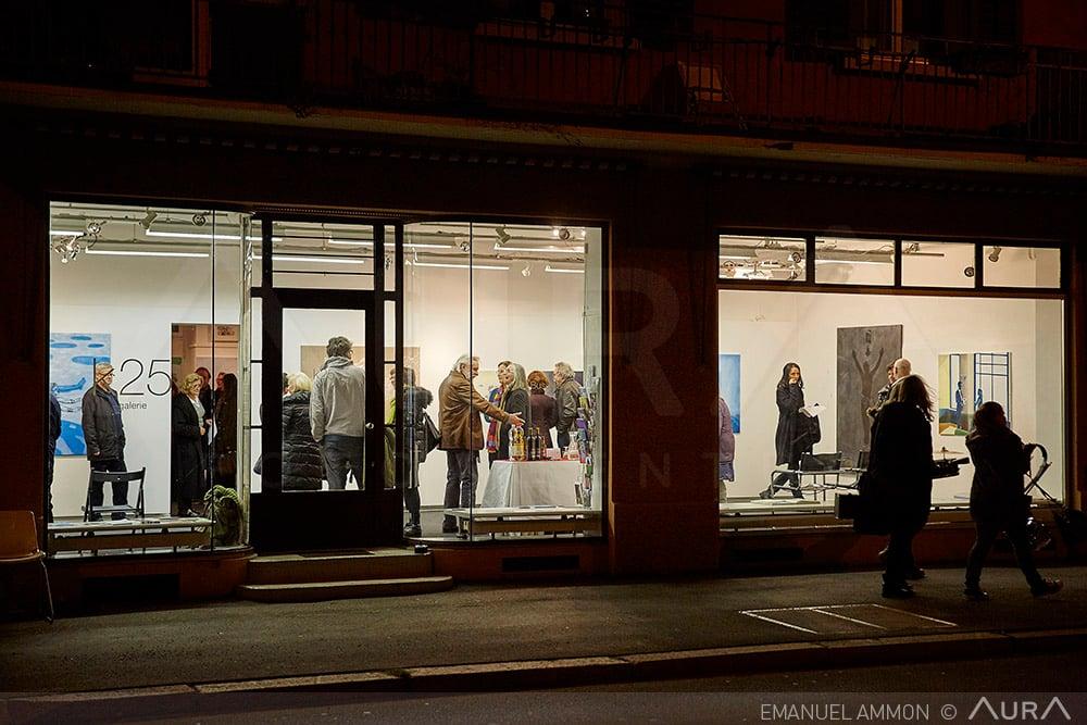 In der Galerie K25 an der Kellerstrasase 25 in Luzern zeigt Bruno Bussmann neue Malereien.