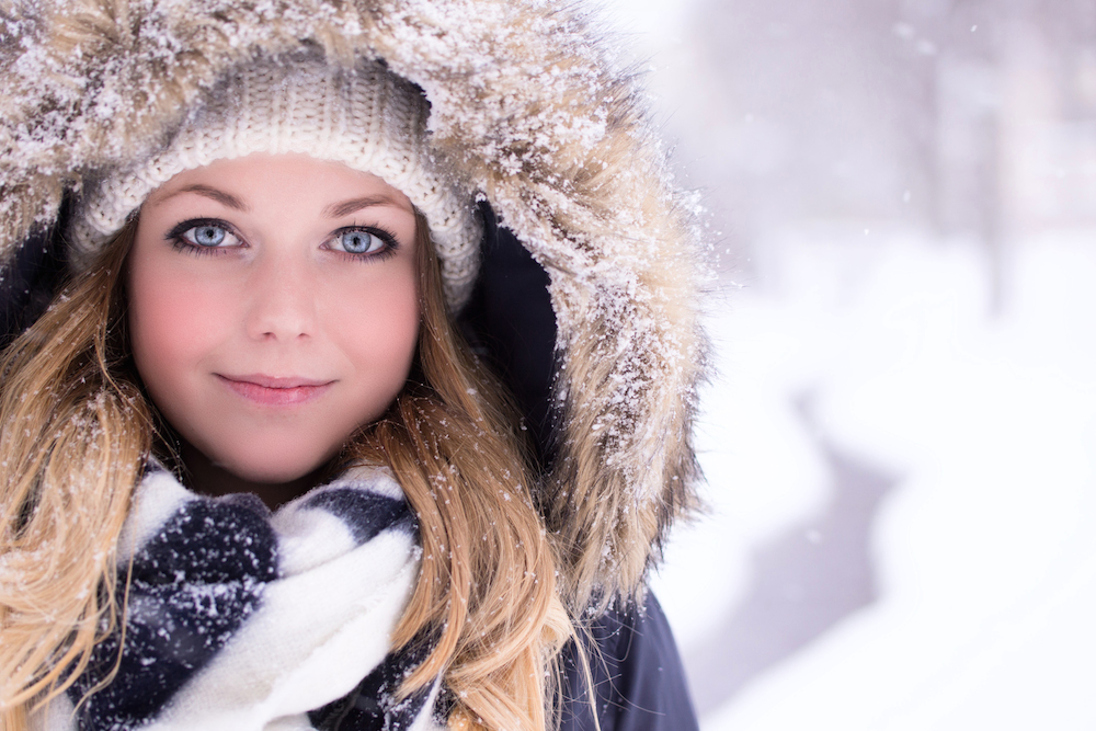Ein Bild von Annette Iten von ihrer Freundin Stefanie beim diesjährigen Schnee.