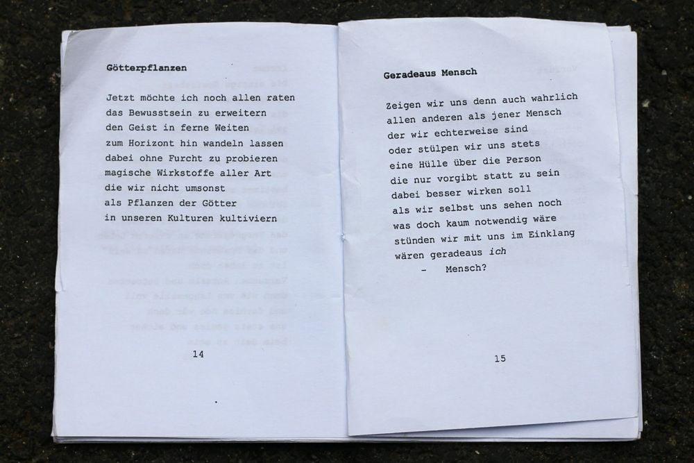Aus Schaffners neuer Gedicht-Serie «Publikumsverse»