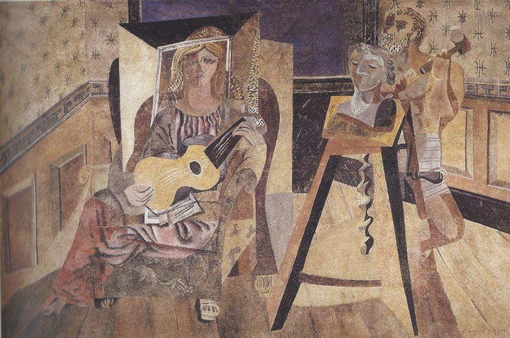 «Der Schaffende Künstler» von Hans Erni.