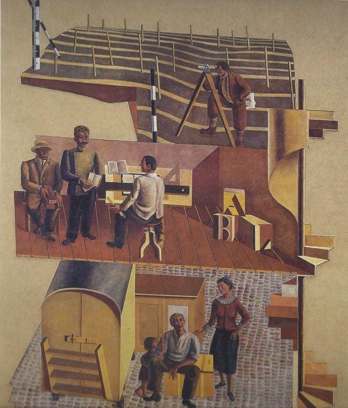 Hans Ernis «Sozialer Wohnungsbau» aus dem Jahr 1936.