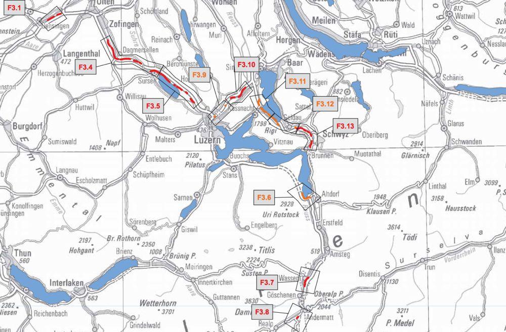 Die Lärmschutzkarte des Bundes zeigt, wo in Luzern der Lärmschutz zu kurz kommt.