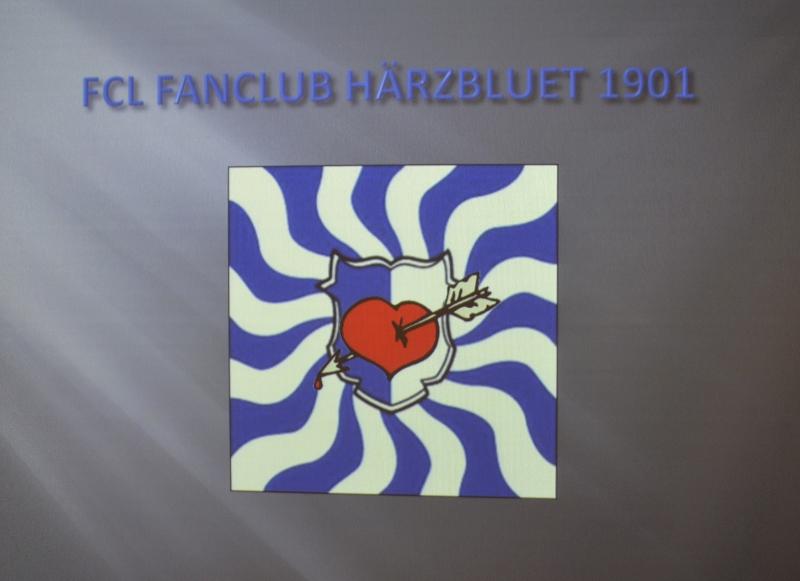 Mit rotem Herz in der Mitte: So sieht das Logo des neuen Fanclubs aus.