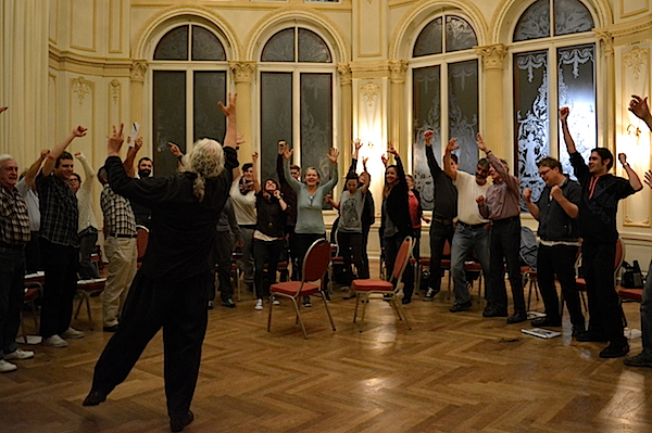 Über 30 Laienspieler sind an der Produktion «Das Luftschiff» der Freilichtspiele beteiligt.