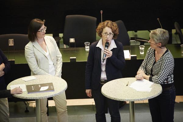 Musste für einmal keine politischen Gegner überzeugen: Felicitas Zopfi.