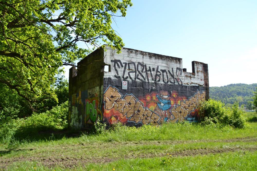 Dieser alte Armeebunker wird definitiv abgerissen.