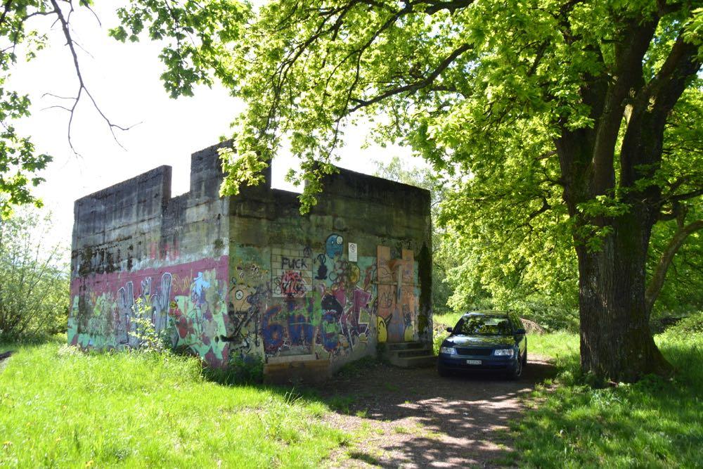 Dieser alte Armeebunker könnte als Lernburg erhalten bleiben.