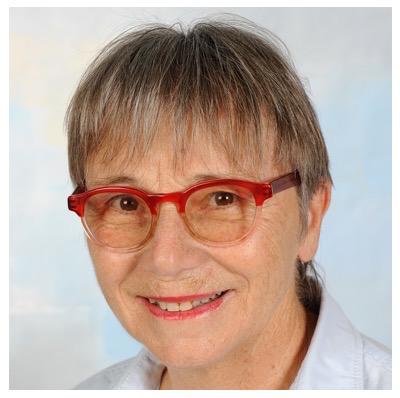 Cécile Malevez, Betreiberin der Meldestelle für Glücksmomente.