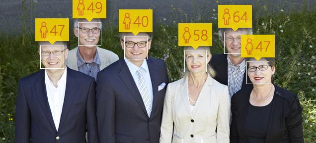 Die meisten Mitglieder des Stadtrates werden jünger eingeschätzt, als sie es tatsächlich sind.