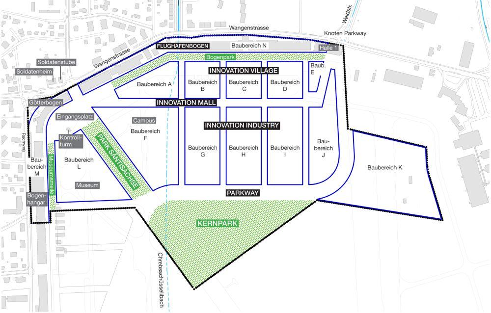 Grundrissplan: So könnte das Zentrum einmal aussehen.