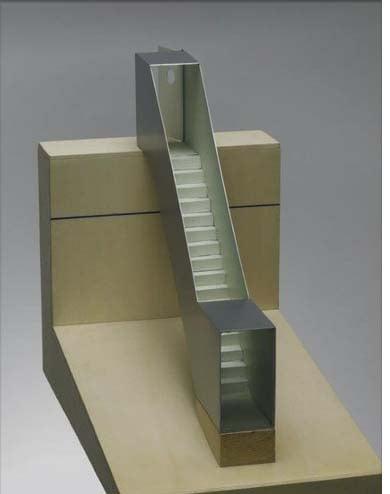 Die Kopie? Die Stahlskulptur «Seesicht» von Roman Signer.