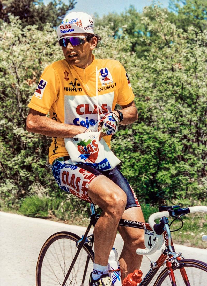 Tony Rominger gewann 1992 die Vuelta in Spanien – einer seiner grossen Triumpfe.
