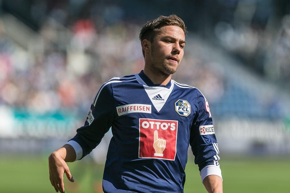Alain Wiss trug acht Jahre lang das Trikot des FC Luzern (Foto: Roman Beer).