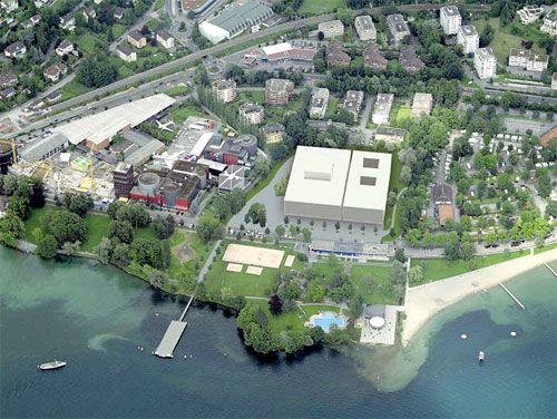 Ideenskizzen für die Salle Modulable in Luzern.