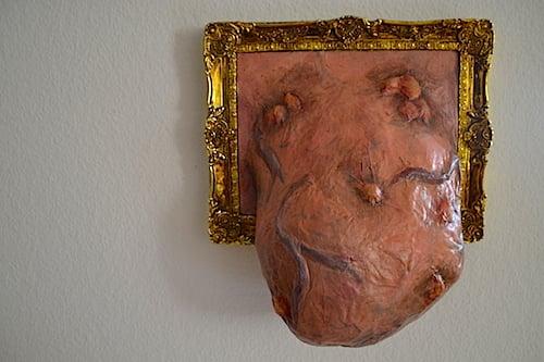 Ein Teil der Dekoration in Joel Sutters Wohung.