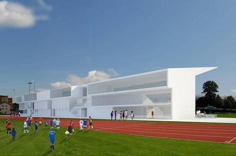 Damals waren zur Mantelnutzung Wohnungen vorgesehen. Nun sollen Räumlichkeiten für Mieter mit Sportbezug entstehen (Bild: zvg).