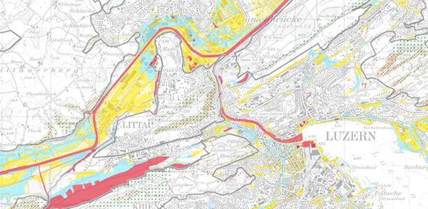 Gefahrenkarte Luzern