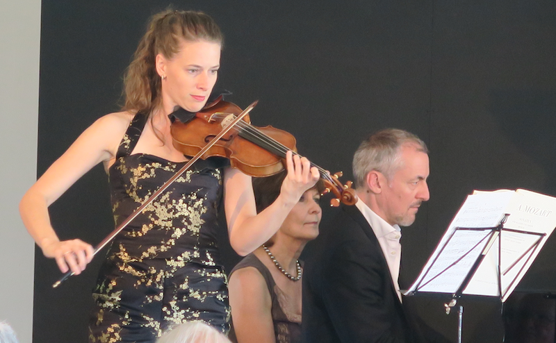 Esther Hoppe und Aleksandar Madžar in der Untermüli.