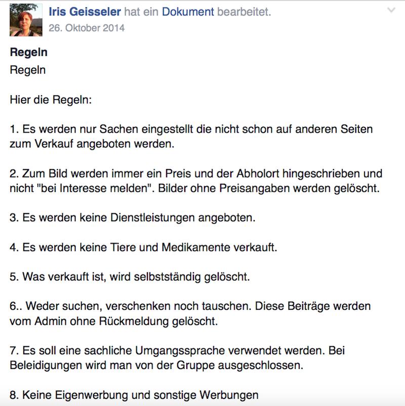 Ziemlich deutlich erklärt Iris Geisseler den Gruppenmitgliedern die Regeln des Verkaufkreis Luzern