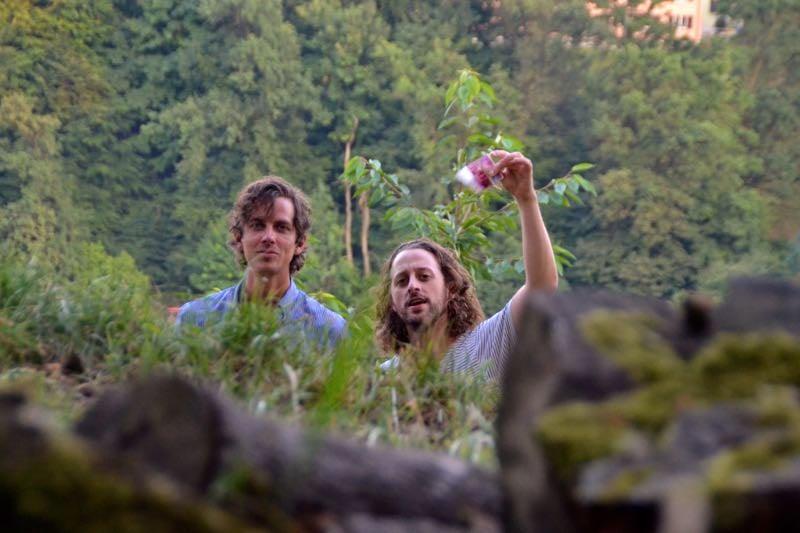 Peter «Pidi» Steger (links) und Martin Fischer von Huck Finn.