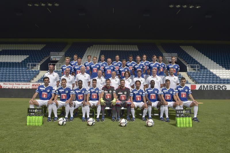 So sieht die Mannschaft – Stand Mitte Juli – des FC Luzern aus.