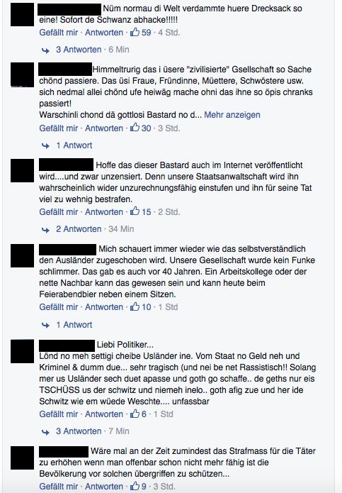 Auf Facebook tobt der Shitstorm.