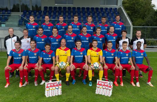 Die Mannschaft des SC Cham freut sich auf das Spiel gegen die Grasshoppers (Bild: zvg).