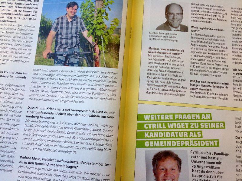 Patrick Koch, Matthias Senn, und Cyrill Wiget haben alle gut lachen.