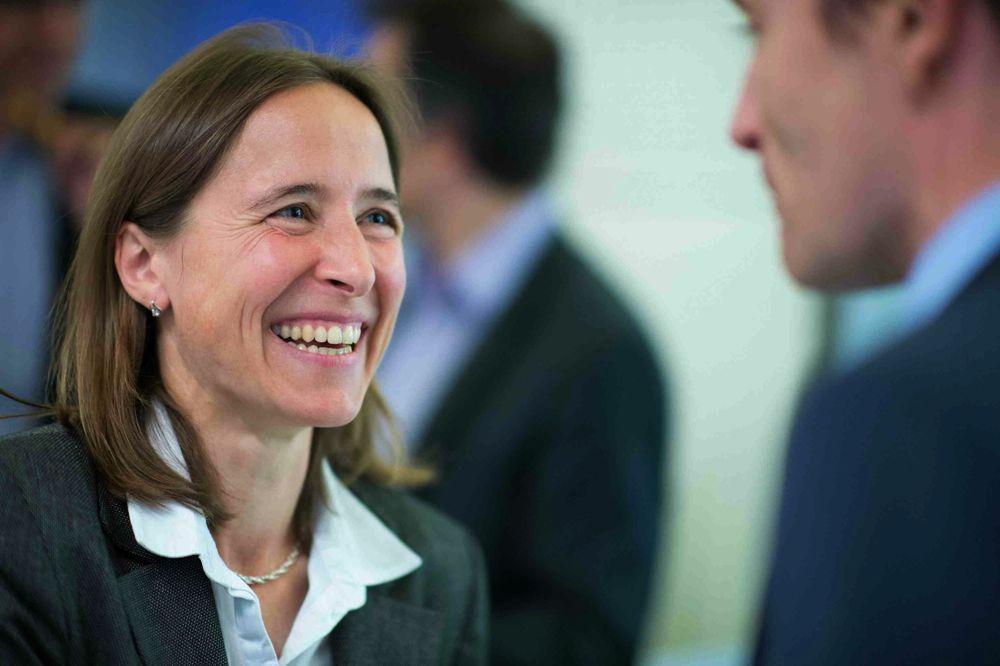 Martina Böhm, Innovationscoach und Geschäftsführerin des Technologie Forums Zug.