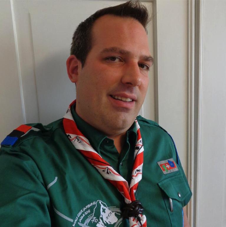 Marco «Lego» Wicki besuchte das 23. World Scout Jamboree in Japan.
